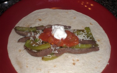 Beef fajita recipe