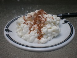 Cinnamon cottage cheese