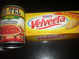 Rotel and Velveeta