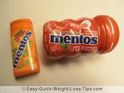 My favorite Mentos gum flavors
